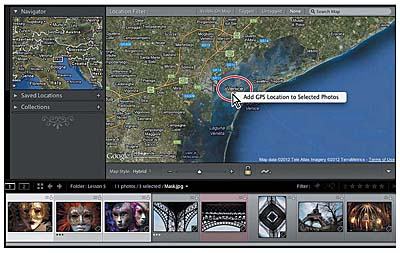 Adobe Photoshop Lightroom 4 Classroom In A Book - Excerpt On Book Module And Map Module