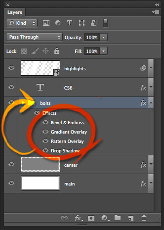 How To Render Type In Brushed Metal In Photoshop
