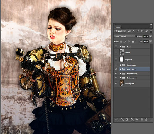 Creating A Composite Image In Photoshop CS6 - PS Tutorial