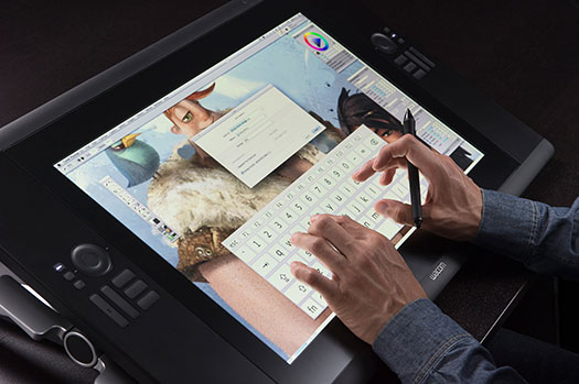 New Wacom Cintiqs Paint a Pretty Picture - The Cintiq 24HD Touch and Cintiq 22HD