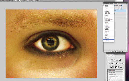 Photoshop Eerie Eye Effects Tutorial