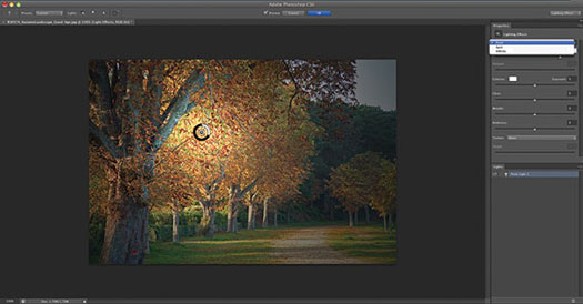 CS6 Lighting Effects Filter - What's New