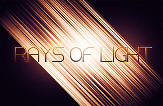 Free Brush Set - Rays Of Light - Plus Brush Set Tutorial