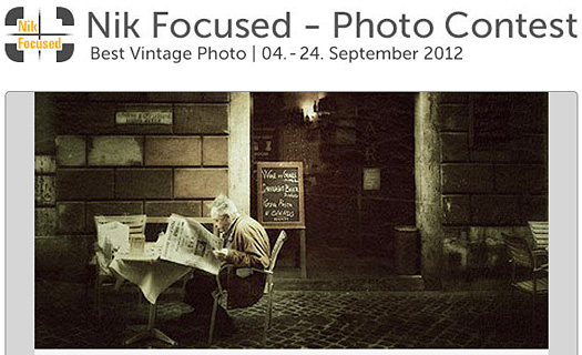 Nik Software Vintage Photo Competition - Win A Nikon 1 Or iPad