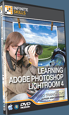 Learning Adobe Photoshop Lightroom 4 Tutorial DVD - Video Training - 12 Free Videos