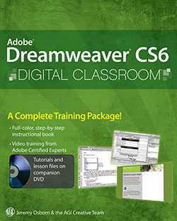 Dreamweaver CS6 Digital Classroom Sample Chapter