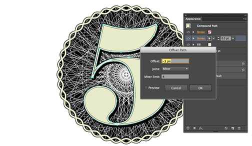 Creating a currency-style emblem in Illustrator - Video Tutorial and Step-by-Step