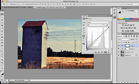 Create The Lomo Effect In Photoshop - Using Curves To Simulate The Cross-processing Effect
