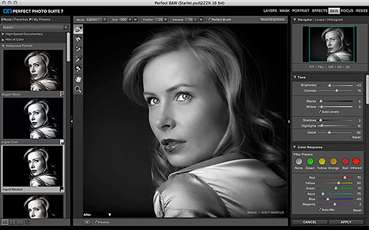 Perfect B&W - onOne Plugin Creates Stunning Black & White Photos