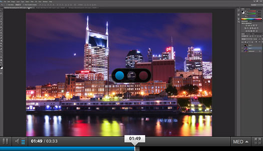 Photoshop CS6 Video Tutorial - Background Save And Autorecover