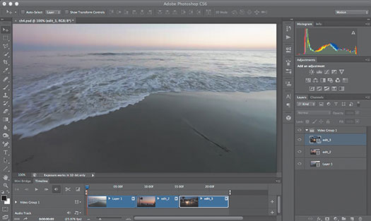 Using Advanced Editing Techniques for Video in Photoshop - Tips