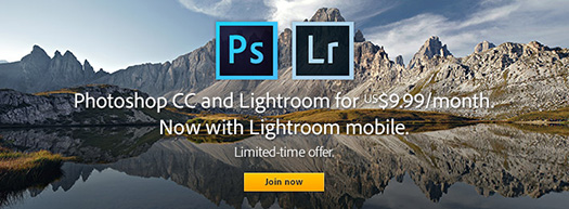 Adobe Lightroom Mobile Is Here - Get Photoshop, Lightroom, $9.99