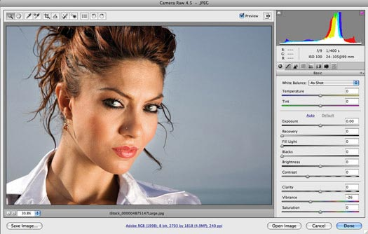 Working In Adobe Camera Raw - ACR - Adobe Camera Raw Tips