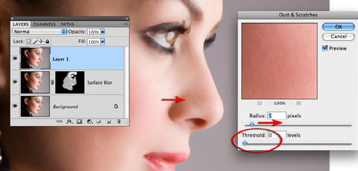 Skin Retouching Tips In Photoshop CS4