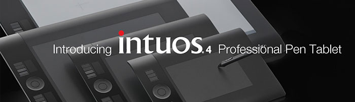 Wacom Intuos4 Pen Tablets Overview - Intuos 4 New Features