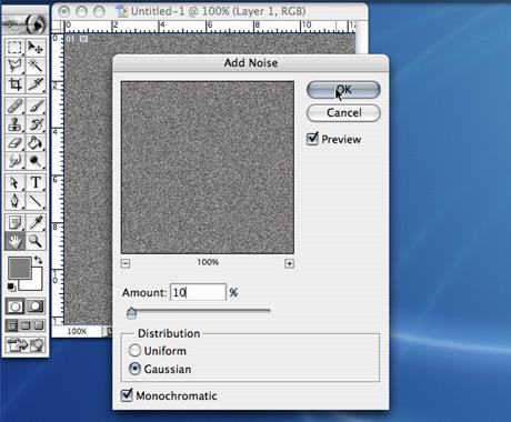 Photoshop Tutorial - How To Create Brushed Aluminum