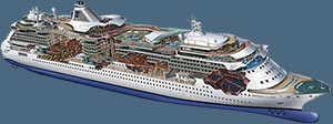 Photoshop Tutorial - Cruise Ship Cutaway