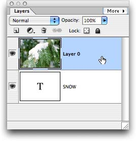 how to keep two layers together in photoshop