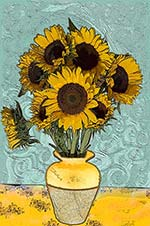 Van Gogh Effect - Van Gogh's Sunflowers