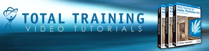 Free Photoshop Tutorials From Total Training - Video Tutorials